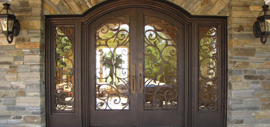 and elegante entry iron wrought doors balcony stair inc door railings