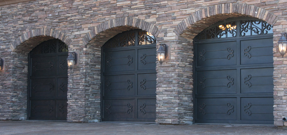 Signature Iron Doors Iron Garage Doors Custom Railings