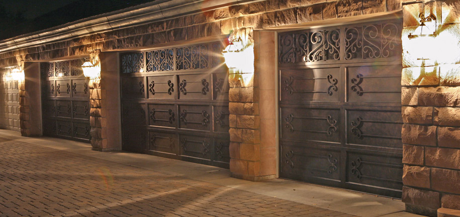 Signature Iron Doors Iron Garage Doors Custom Railings
